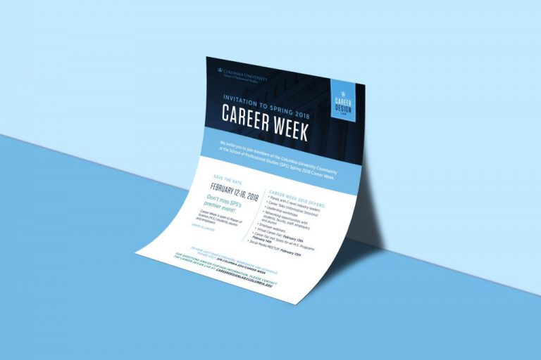 Career Week 2019, Career Disruption and Impact Conference